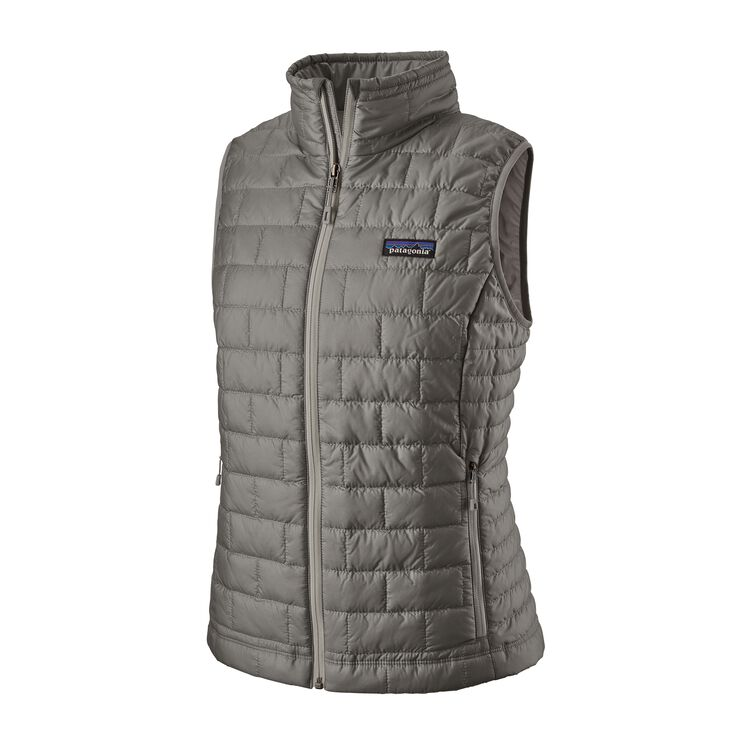 W'S NANO PUFF VEST, Feather Grey (FEA)