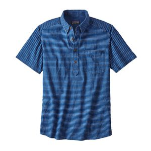 メンズ・バック・ステップ・プルオーバー・シャツ, Sets Small: Superior Blue (STSB)