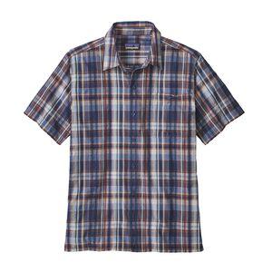 M's Puckerware™ Shirt, Free Rider: Dolomite Blue (FRDO)