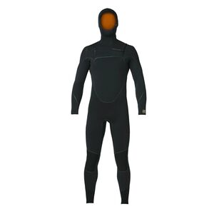 M's R3™ Yulex™ Front-Zip Hooded Full Suit, Black (BLK)