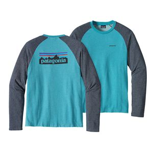 M's P-6 Logo Lightweight Crew Sweatshirt, Filter Blue (FLTB)