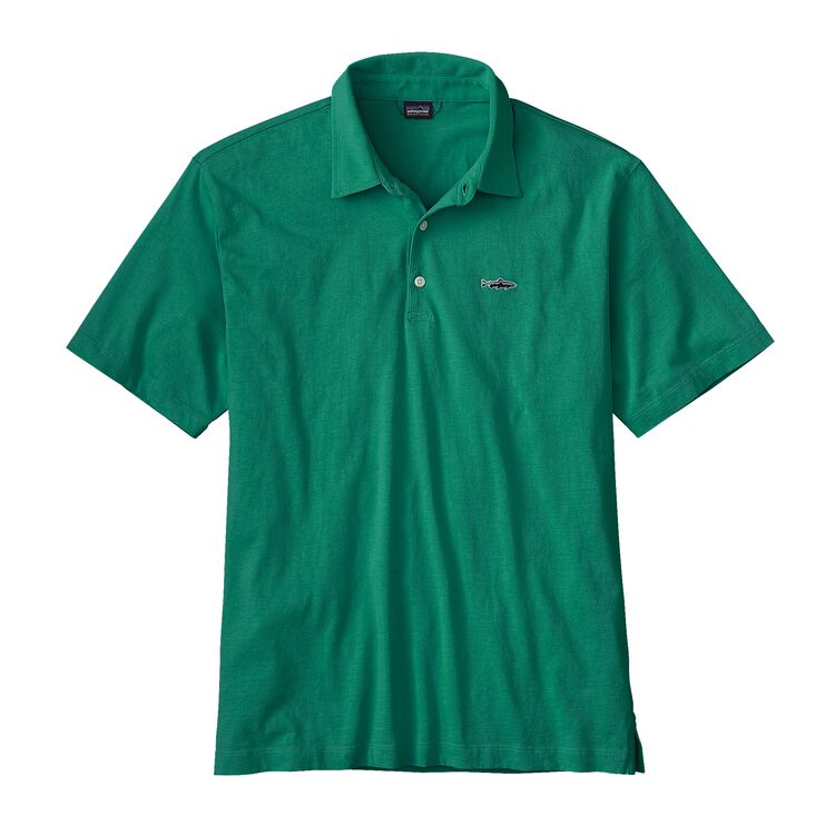 M'S POLO - TROUT FITZ ROY, Impact Green (IMPG)