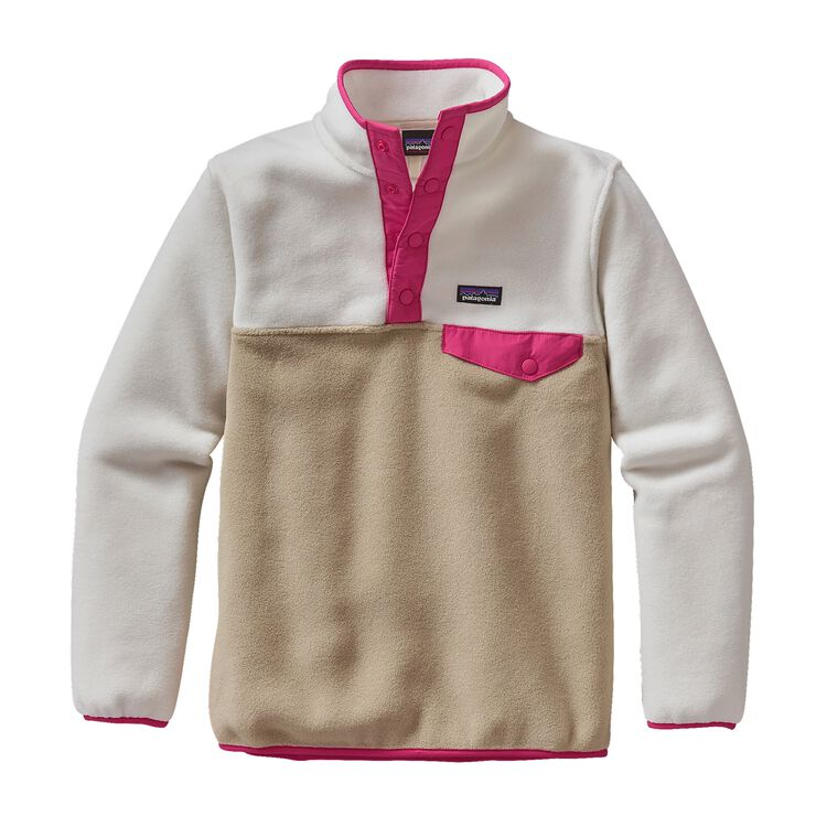 GIRLS' LW SYNCH SNAP-T P/O, El Cap Khaki (ELKH)