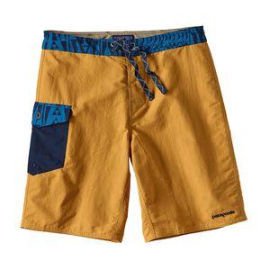 メンズ・パッチポケット・ウェーブフェアラー・ボード・ショーツ(51cm), Yurt Yellow (YRTY)