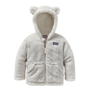 BABY FURRY FRIENDS HOODY, Birch White (BCW)