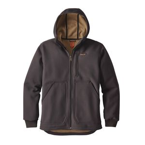 M's Burly Man Hooded Jacket, Ink Black (INBK)