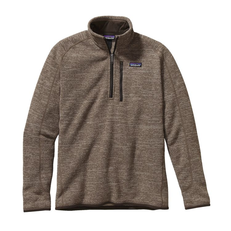 M'S BETTER SWEATER 1/4 ZIP, Pale Khaki (PEK)