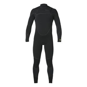 M's R3™ Yulex™ Front-Zip Full Suit, Black (BLK)