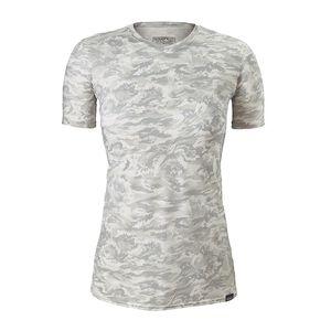 ウィメンズ・キャプリーン・デイリー・Tシャツ, El Nino Camo Small: Tailored Grey (ENST)