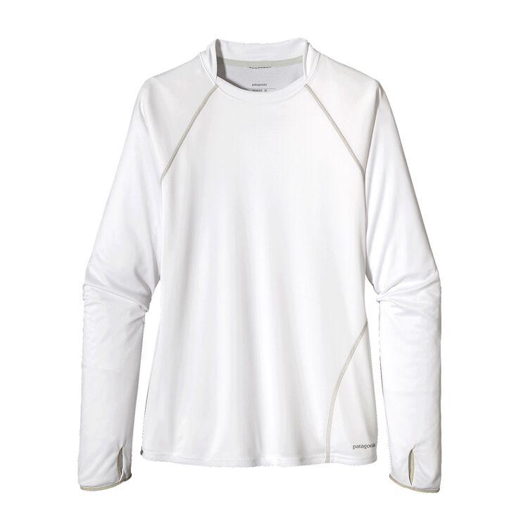 ウィメンズ・サンシェード・クルー, White (WHI-725)