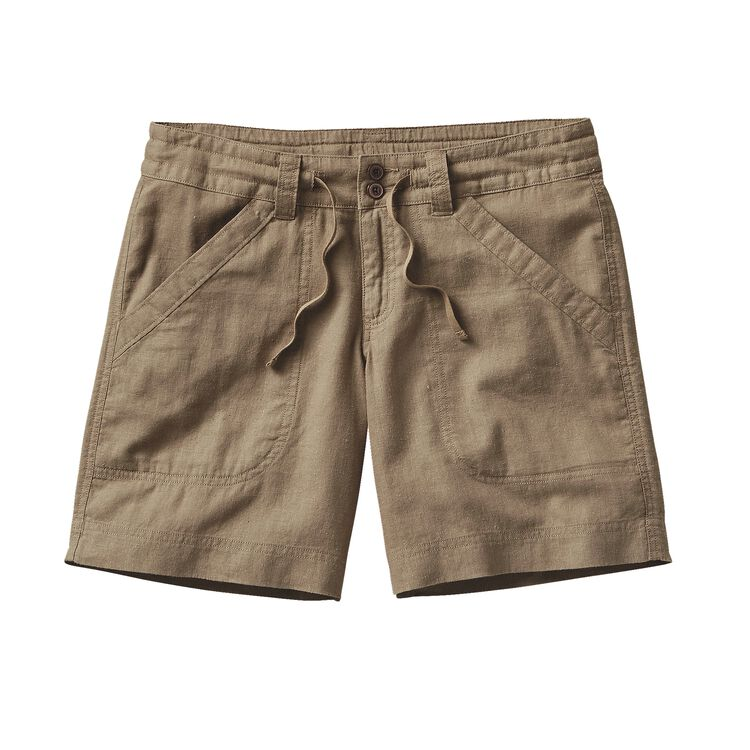 W'S ISLAND HEMP SHORTS, Ash Tan (ASHT)