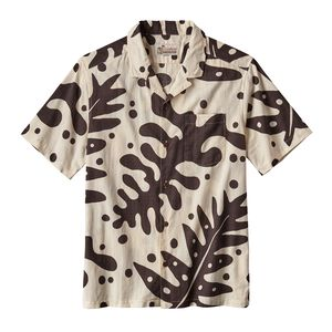 M'S PATALOHA SHIRT, Ferns: Ink Black (FNIB)