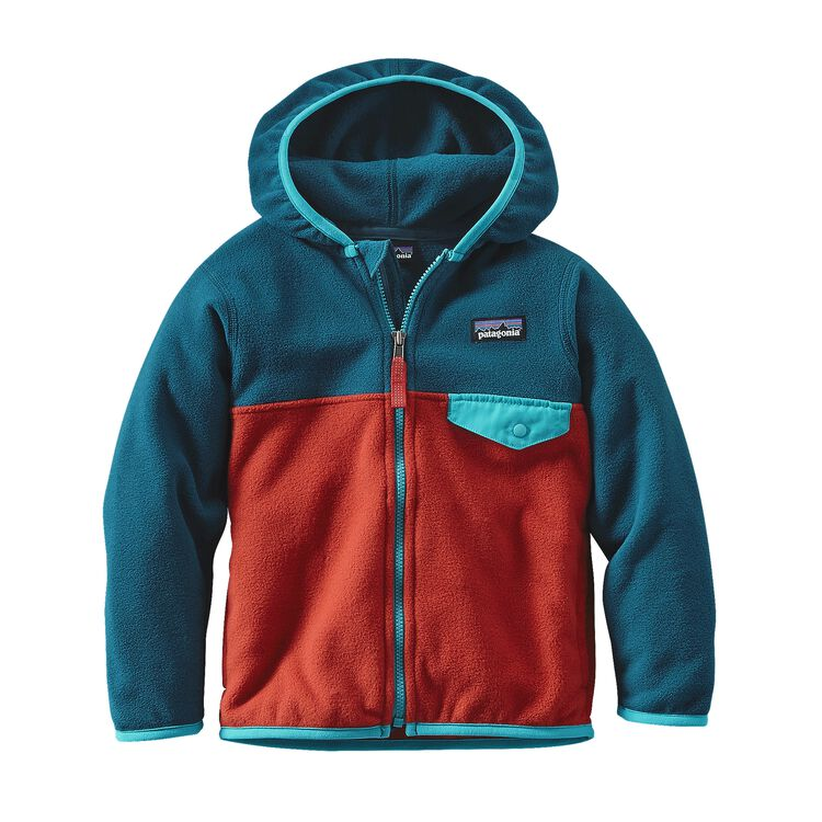 BABY MICRO D SNAP-T JKT, Ramble Red (RMBR)