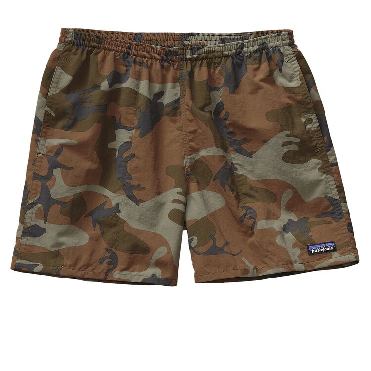 M'S BAGGIES SHORTS - 5 IN., Forest Camo: Hickory (FCMH)