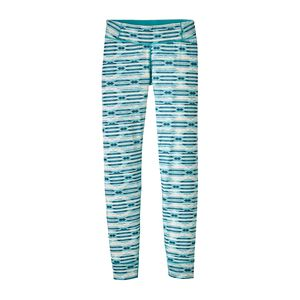 Girls' Capilene® Bottoms, Mirage: Strait Blue (MIRS)