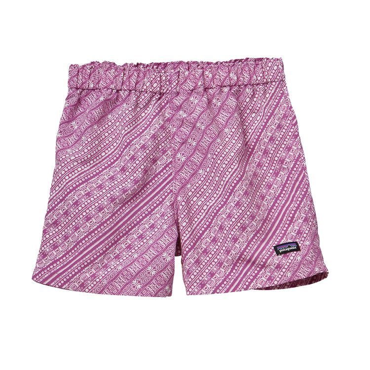 BABY BAGGIES SHORTS, Arina Stripe: Mock Purple (AMKP)