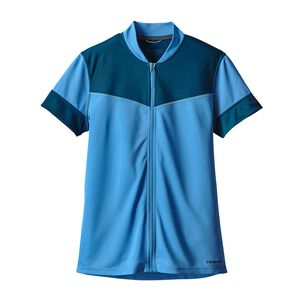 W's Crank Craft Jersey, Radar Blue (RAD)
