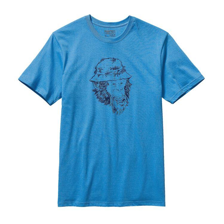 M'S FISH MONKEY COTTON T-SHIRT, Skipper Blue (SKPB)