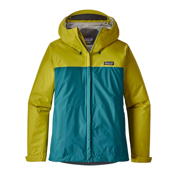 W'S TORRENTSHELL JKT, Fluid Green (FLGR)