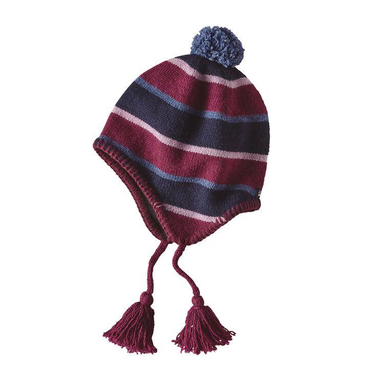 K'S WOOLLY HAT, Scaler Stripe: Navy Blue (SSNV)