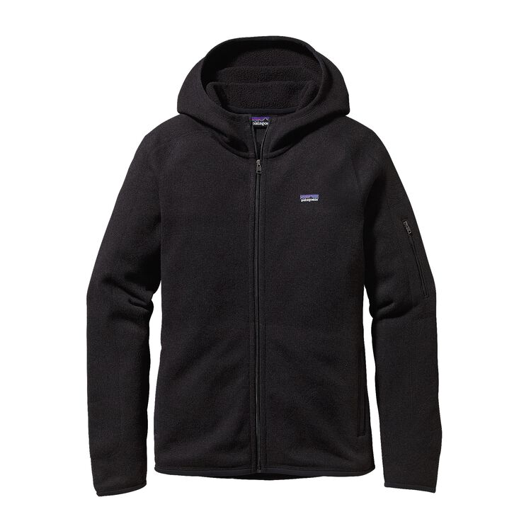 W'S BETTER SWEATER HOODY, Black (BLK)