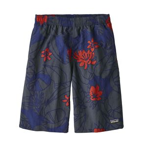 Boys' Baggies™ Longs, Valley Flora: Cobalt Blue (VFCO)