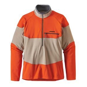 M's Long-Sleeved R1® Field 1/4-Zip, El Cap Khaki (ELKH)