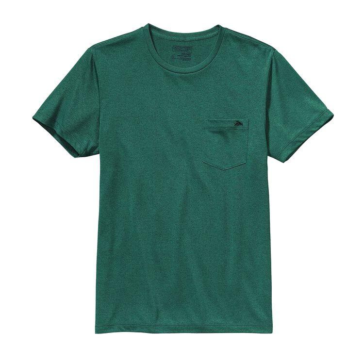 メンズ・フライング・フィッシュ・リサイクル・ポリ・ポケット・レスポンシビリティー, Gem Green (GEMG)