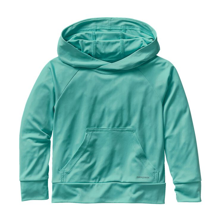 BABY SUN-LITE HOODY, Howling Turquoise (HWLT)