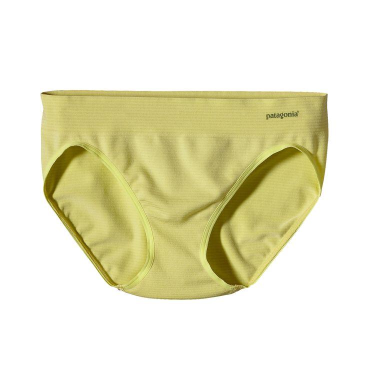 ウィメンズ・アクティブ・ブリーフ, Teensy Stripe: Mayan Yellow (TMYY)
