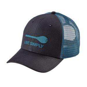 Live Simply® Spork Trucker Hat, Smolder Blue (SMDB)