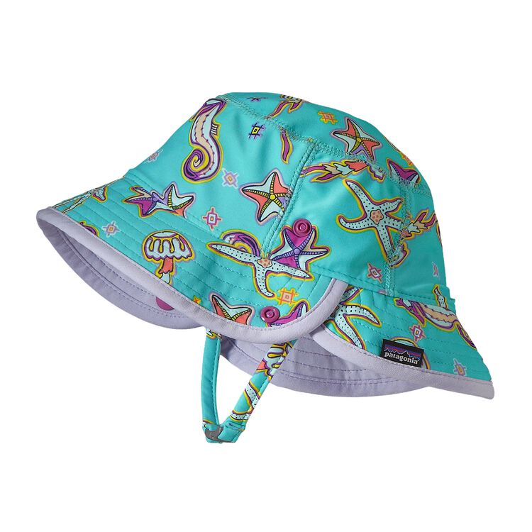BABY LITTLE SOL HAT, Dream Tides: Howling Turquoise (DTHT)