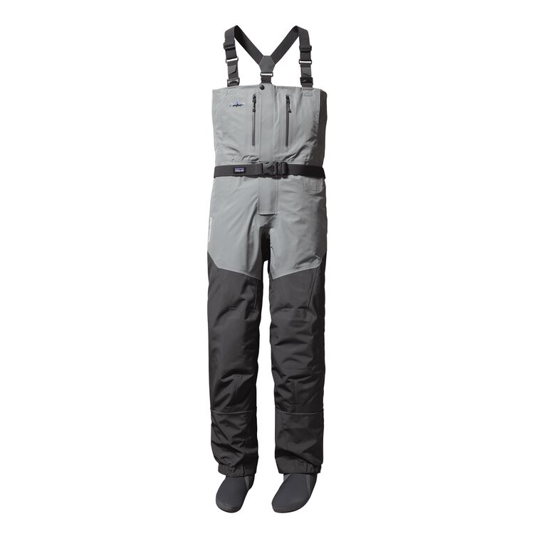 M'S RIO GALLEGOS ZIP FRONT WADERS - LONG, Forge Grey (FGE)