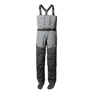 M'S RIO GALLEGOS ZIP FRONT WADERS - KING, Forge Grey (FGE)