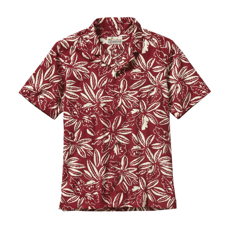 M'S LIMITED EDITION PATALOHA SHIRT, Tropical: Drumfire Red (TPDR)