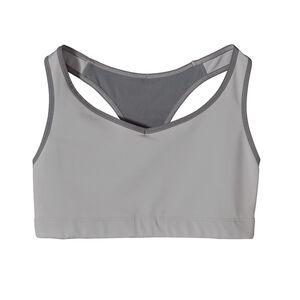ウィメンズ・コンプレッション・ブラ, Tailored Grey (TGY)
