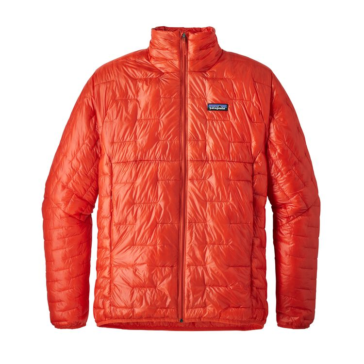 M'S MICRO PUFF JKT, Paintbrush Red (PBH)