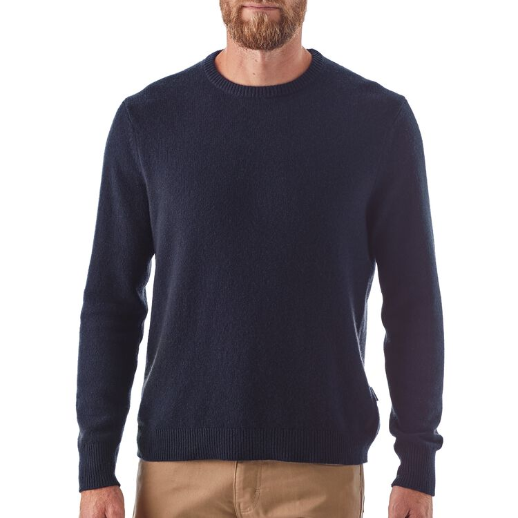 M's Recycled Cashmere Crewneck Sweater,
