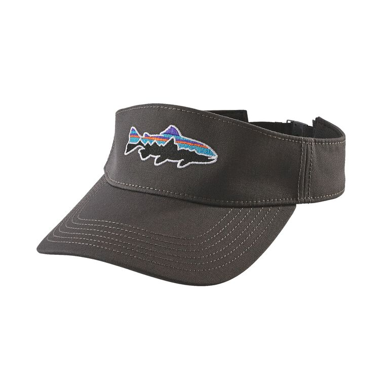 FITZ ROY TROUT VISOR, Forge Grey (FGE)