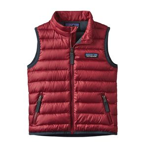 BABY DOWN SWEATER VEST, Classic Red (CSRD)