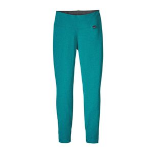 W's Capilene® Thermal Weight Bottoms, Strait Blue - Elwha Blue X-Dye (SELX)