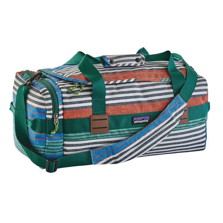 ARBOR DUFFEL 30L, Stripe of Stripes Texture: Bandana Blue (STBA)