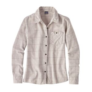 W's Heywood Flannel Shirt, Crafted Plaid: Birch White (CTBW)