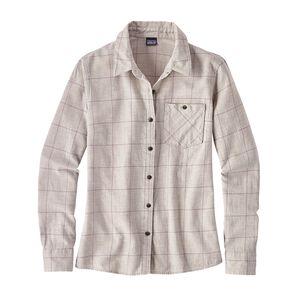 W's Heywood Flannel Shirt, Crafted Plaid: Birch White (CTBW)