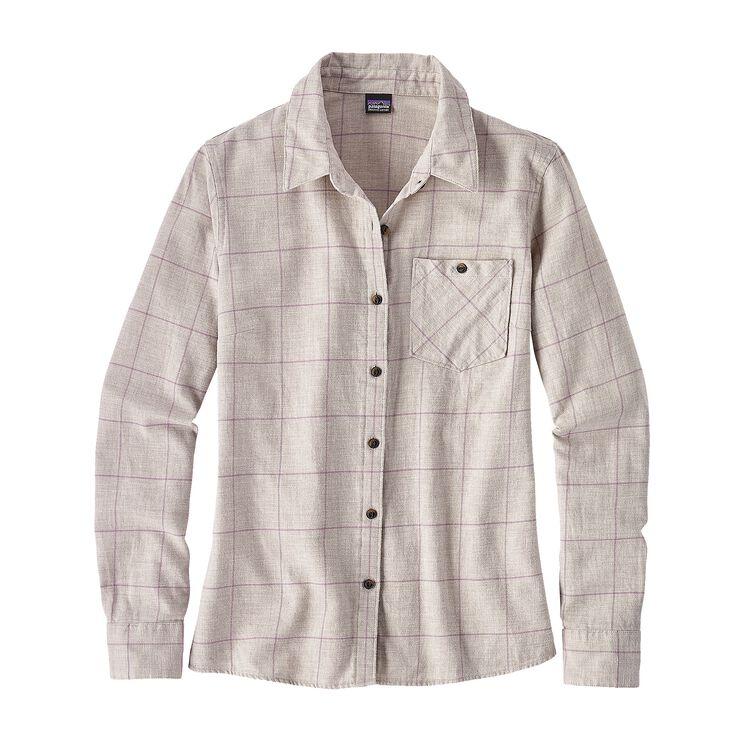 ウィメンズ・ヘイウッド・フランネル・シャツ, Crafted Plaid: Birch White (CTBW)