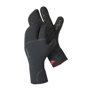 R4® Yulex™ Three Finger Mitts, Black (BLK)