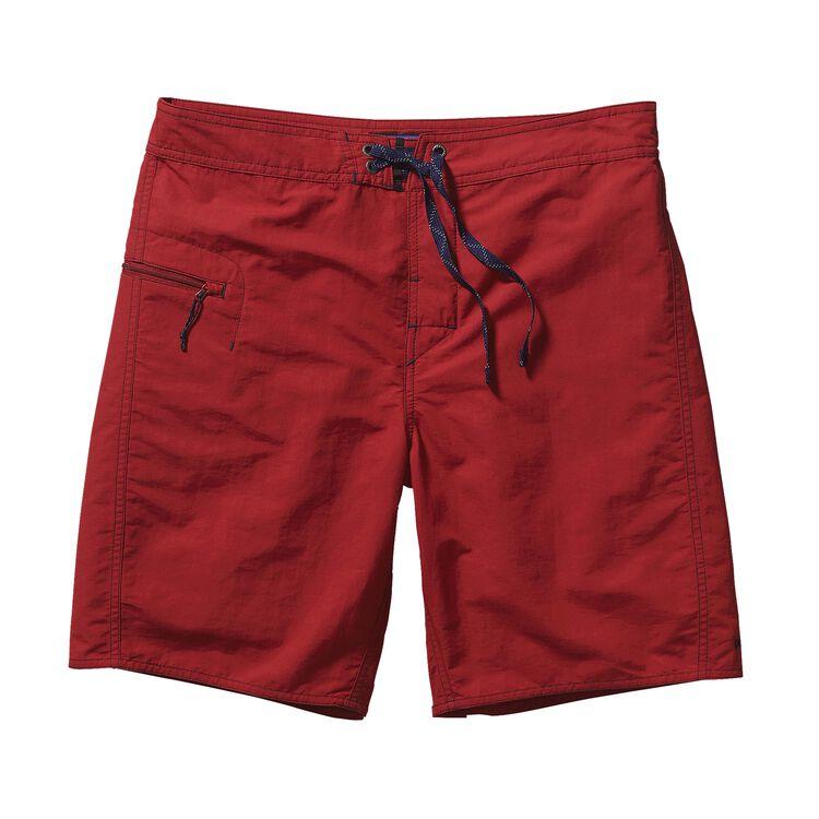 メンズ・ミニマリスト・ウェーブフェアラー・ボード・ショーツ(48cm) , Classic Red (CSRD)