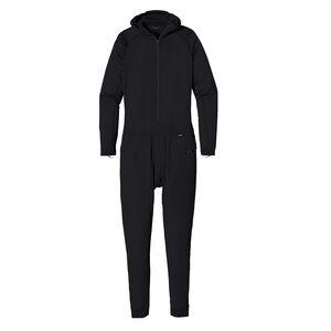 メンズ・キャプリーン・サーマルウェイト・ワンピース・スーツ, Black (BLK)
