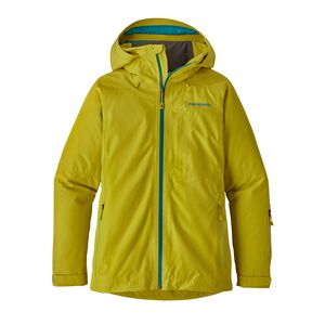 W's Powder Bowl Jacket, Fluid Green (FLGR)