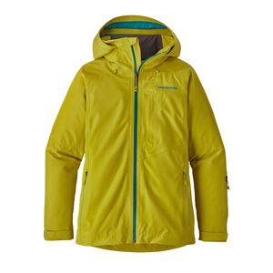 W's Powder Bowl Jacket, Fluid Green (FLGR)